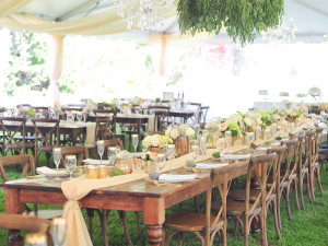 Party Rental And Tables Round Rectangle Goodwin Events