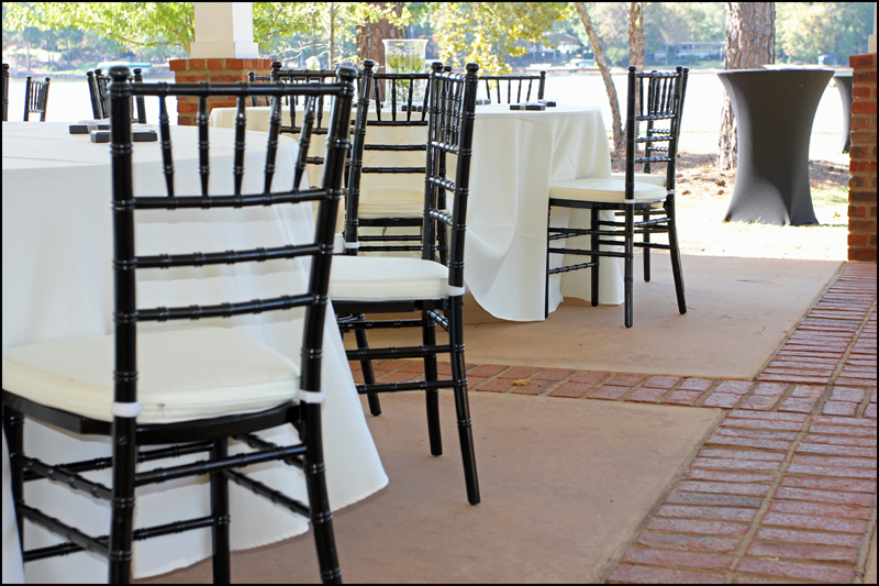 Black Chiavari Chair Rental Atlanta