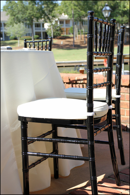 Chivary Chair Weddings Atlanta