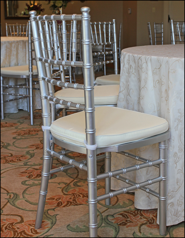 Silver Chiavari Chair Rental Atlanta