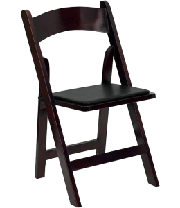 Folding Mahogany Chair Rental Georgia