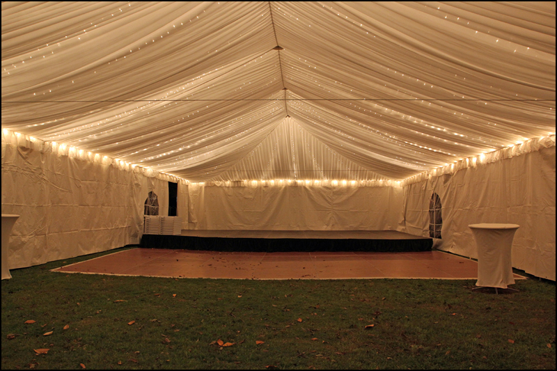 Atlanta Wedding Tent Lighting