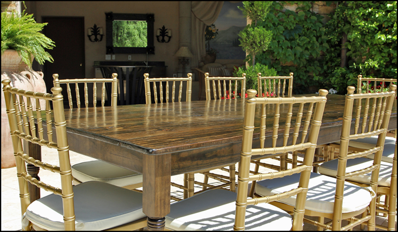 Lake Oconee Table Rental