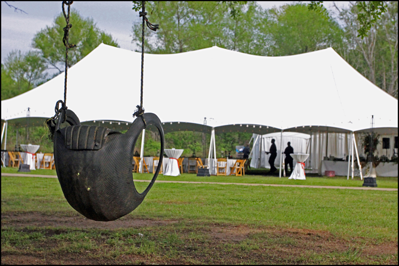 Athens GA Wedding Tent