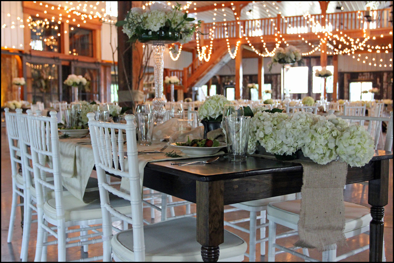 Barn Wedding Reception GA
