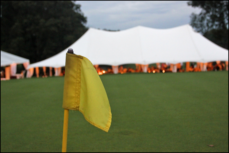 Tent Rental for Golf Tournament