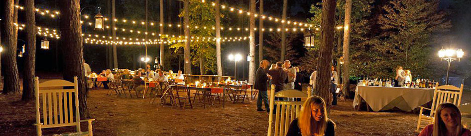 Cafe String Lighting for Weddings and Events