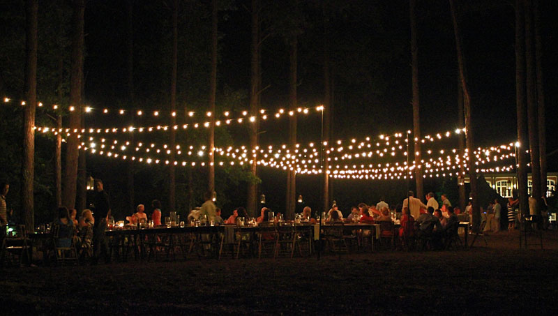 String Lights Cafe Lighting Bistro Goodwin Events