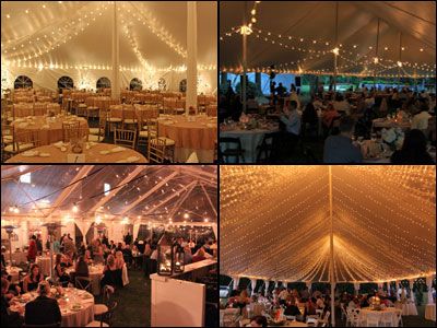 Cafe String lightings for weddings and events