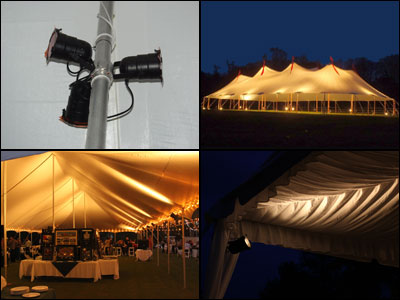 Tent Lighting and Rental