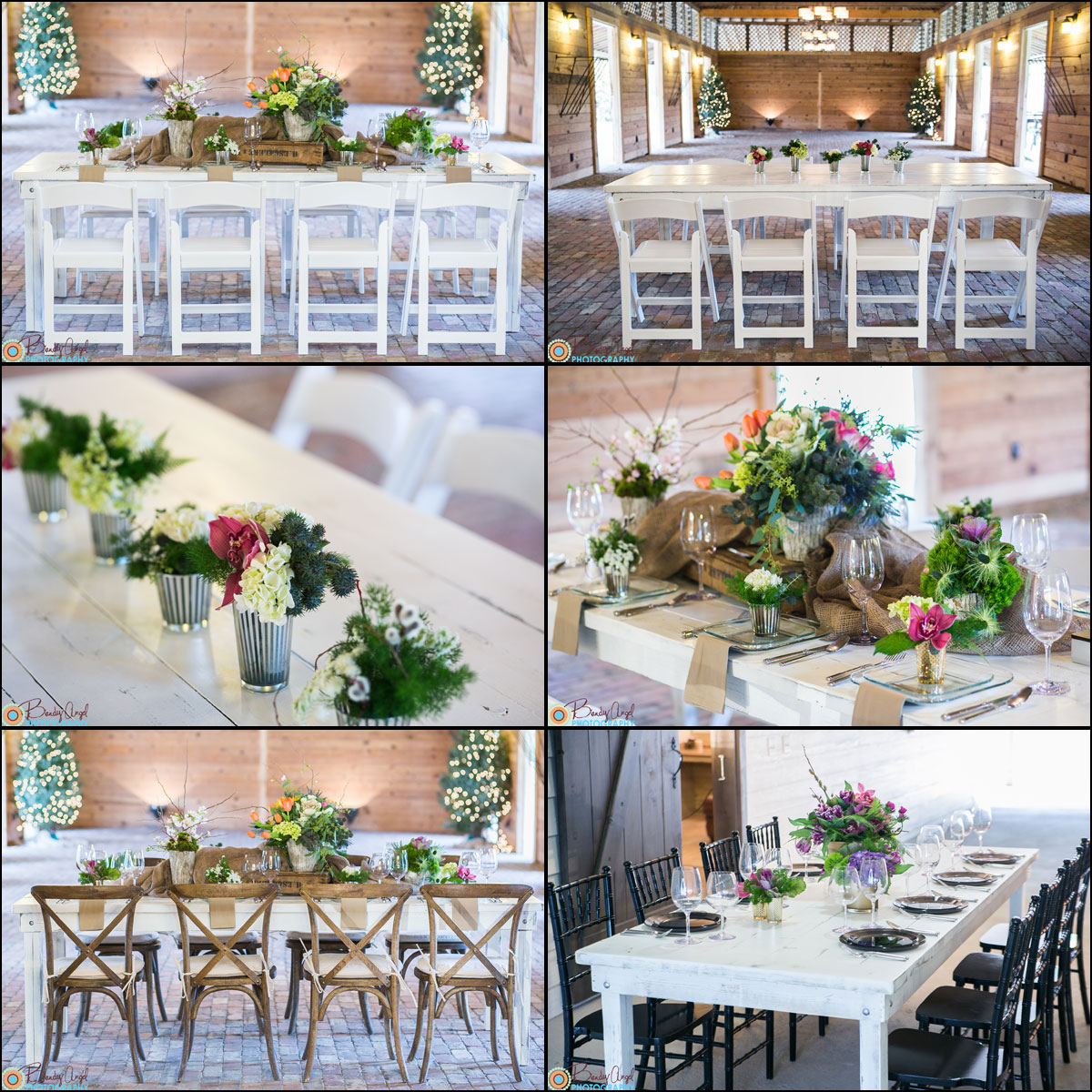 Table Rental Farm Georgia Wedding