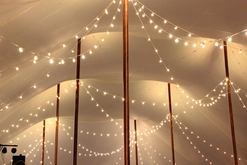 String Lights For Events : Tent and Sailcloth Tent Lighting Ideas Goodwin Events