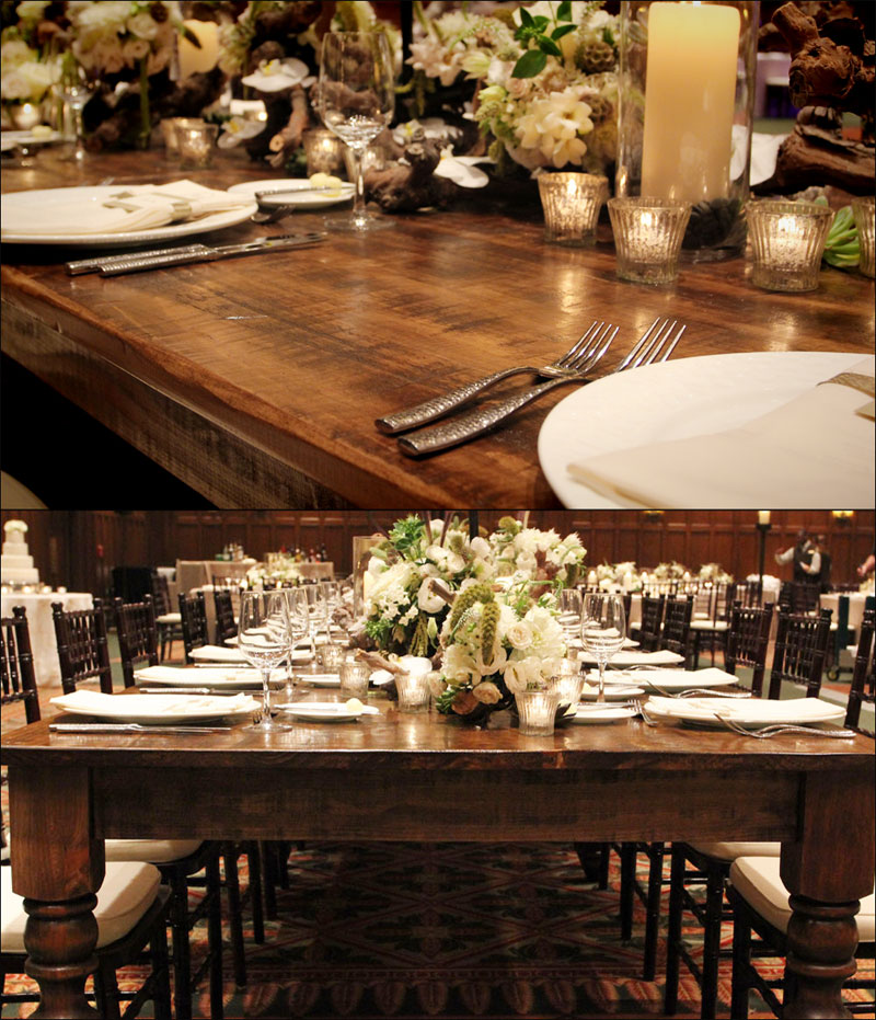 Extra Estate Farm Tables for Rent in Atlanta Augusta and Athens