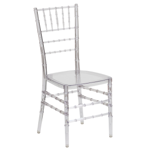 Crystal Ice Chiavari - Clear chairs for rent