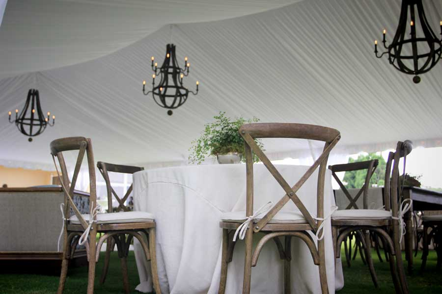 Events And Weddings With Crossback Chairs