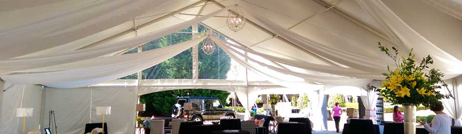 Lake Oconee Food and Wine VIP Tent