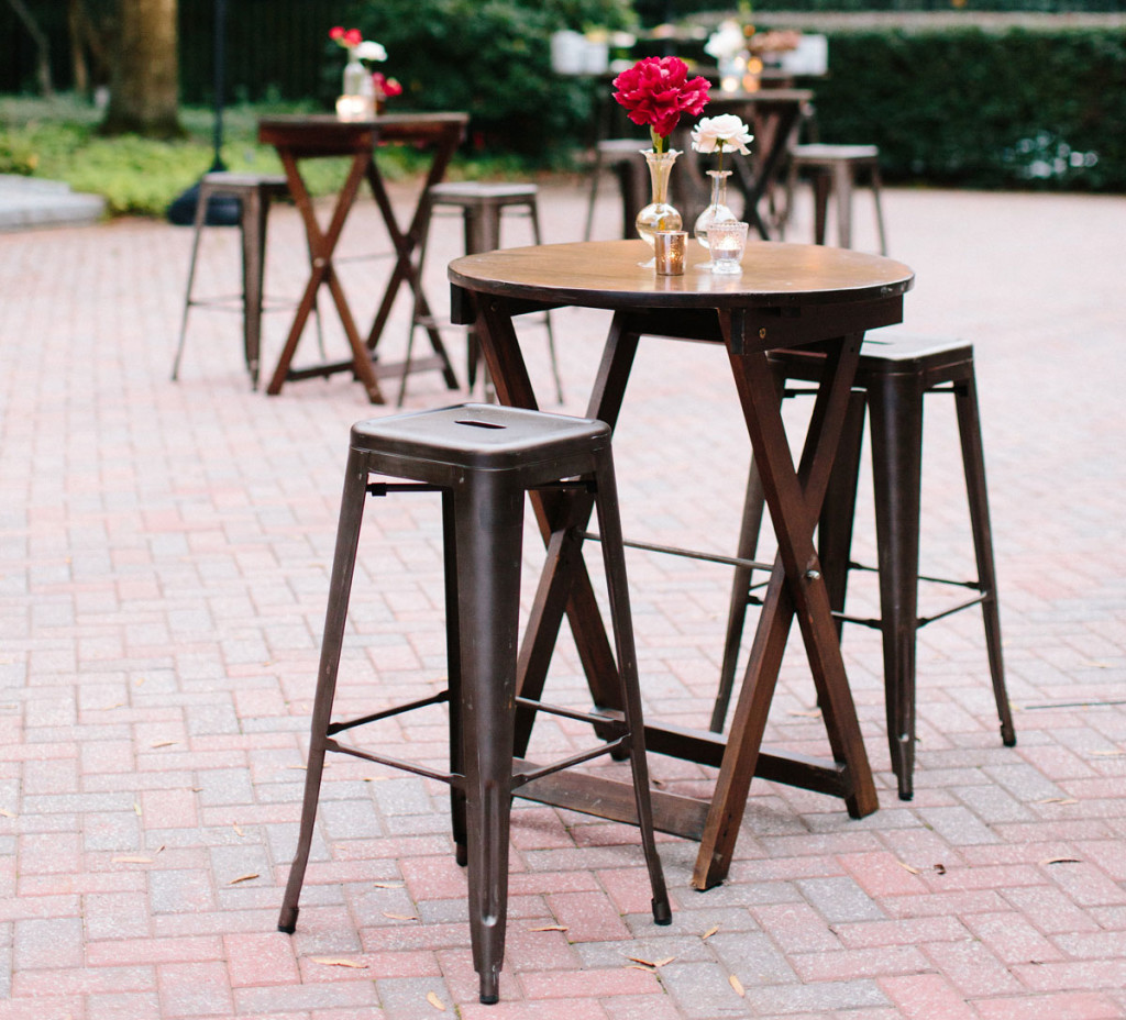 Wood-Cocktail-Highboy-Table