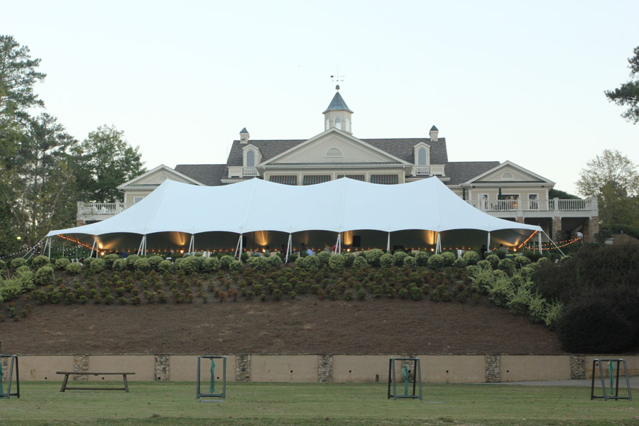 Harbor Club Pole Tent Rental Oconee