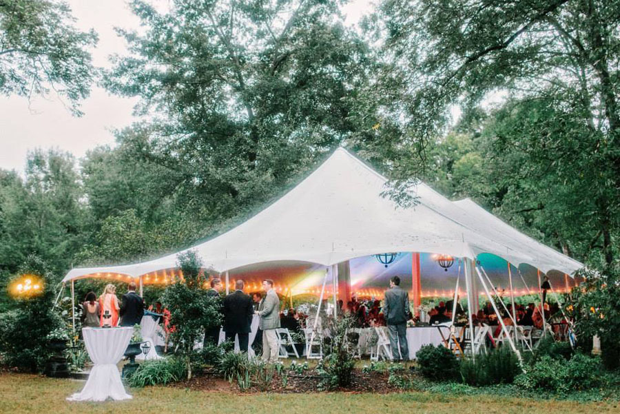 cool photos of wedding tents