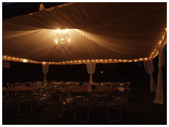 Goodwin Event Rentals Tent Lighting