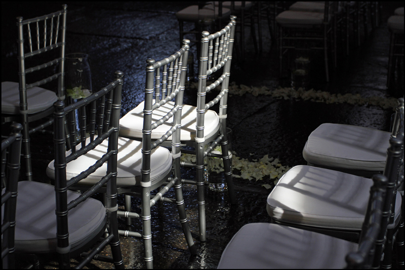 Silver Wedding Chairs