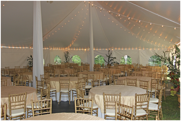 Athens GA Wedding Tent Rental & Clear Top Tent | Sailcloth Tent | Rentals | Goodwin Events