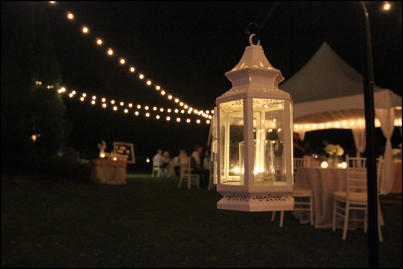 Bistro String Light Rental