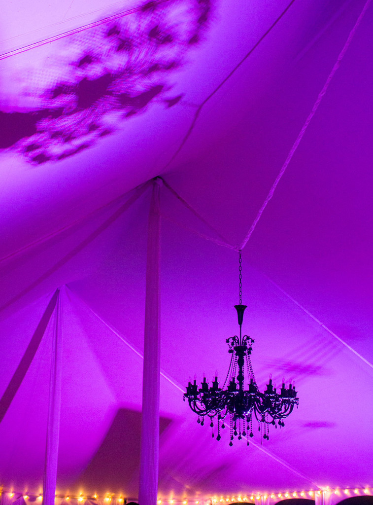 Colored-tent-with-lights