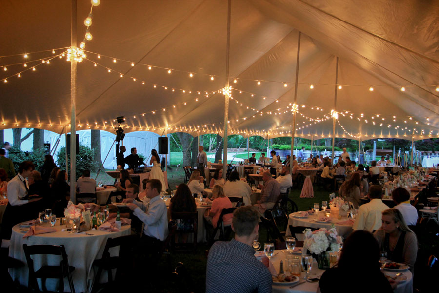 Tent Lighting Ideas | String Lights | Photo | Goodwin Events