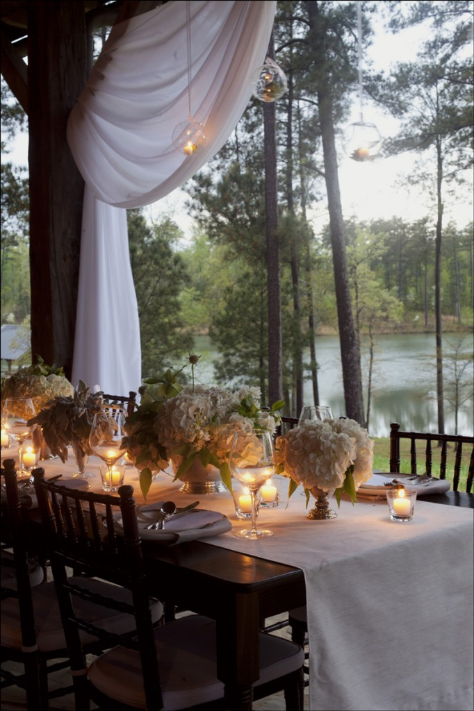 Lake Oconee Barn Wedding