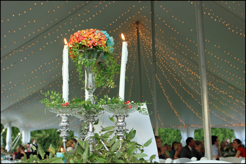 Wedding Tent Lights - Father of the Bride