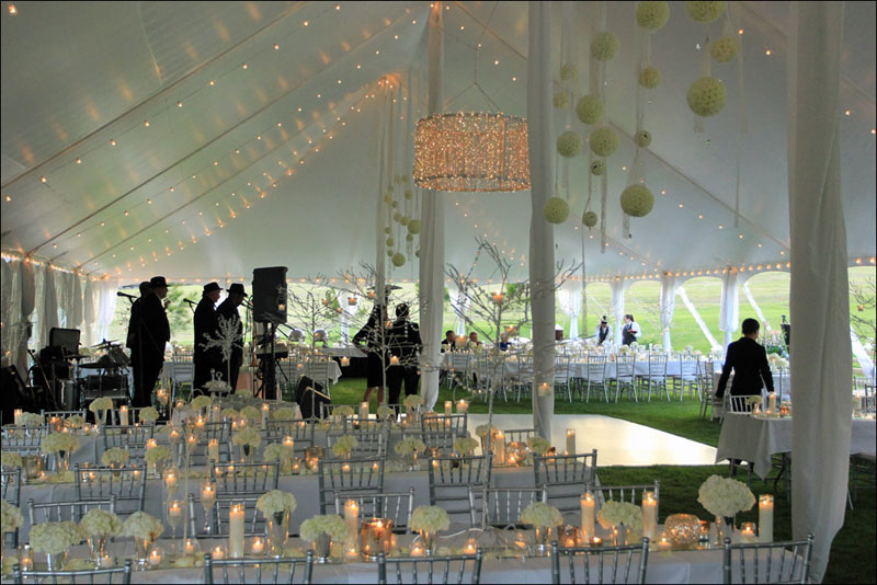 Tent Wedding Reception Georgia Lincolnton GA