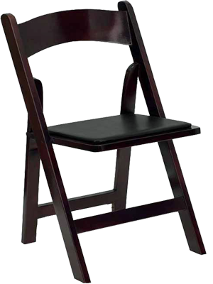 Mahogany-Folding-Chair