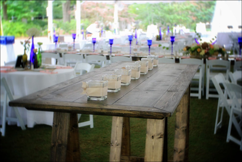 High Top Communal Trestle Table