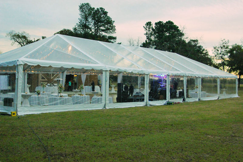 Georgia Clear Top Tent Rental