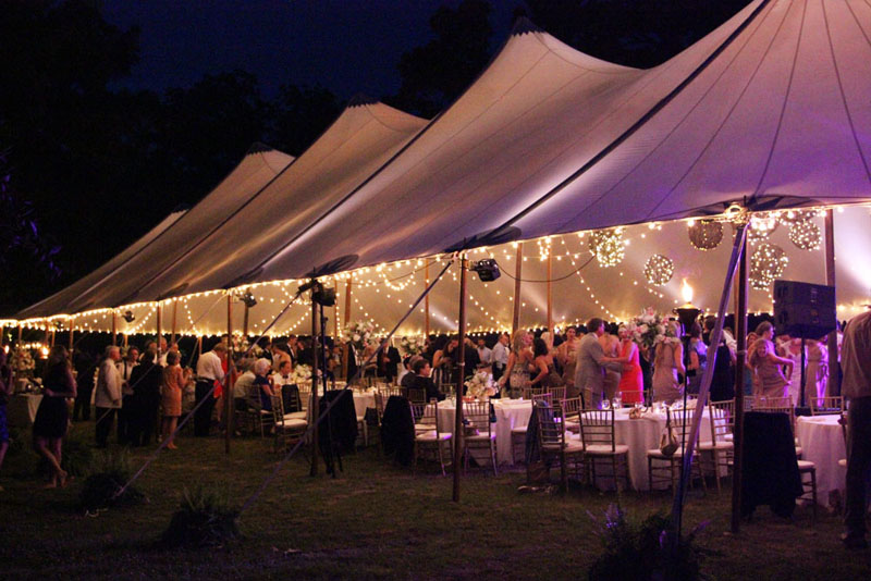 georgia luxury tent wedding