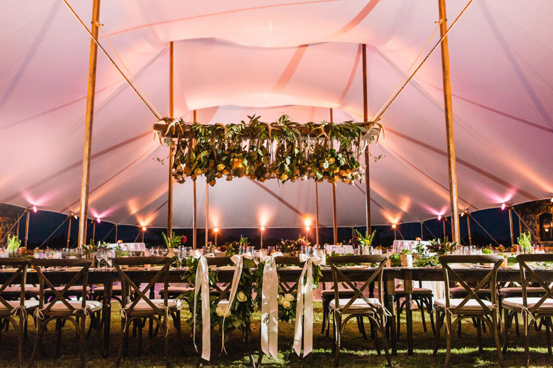 Sailcloth Tent Rental in Athens GA for Weddings