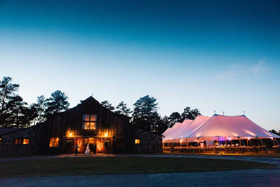 Striking Sandy Creek Barn Wedding On Lake Oconee