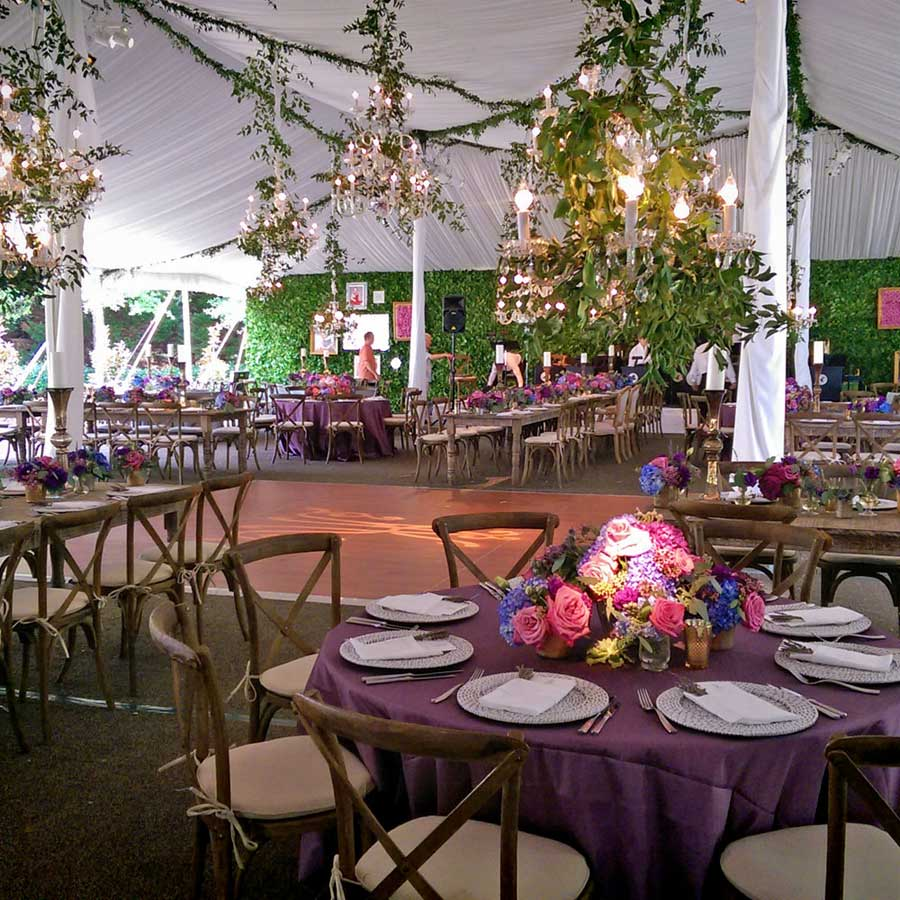tent at the Ritz Carlton Lodge Reynolds Plantation
