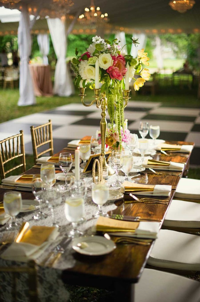 Farm-table-with-gold-chairs