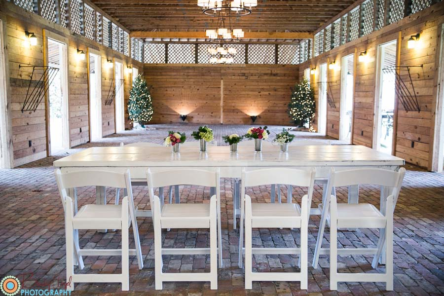 White Farm Tables