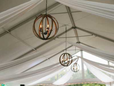 Fabric-Swags-Installed-in-Tent