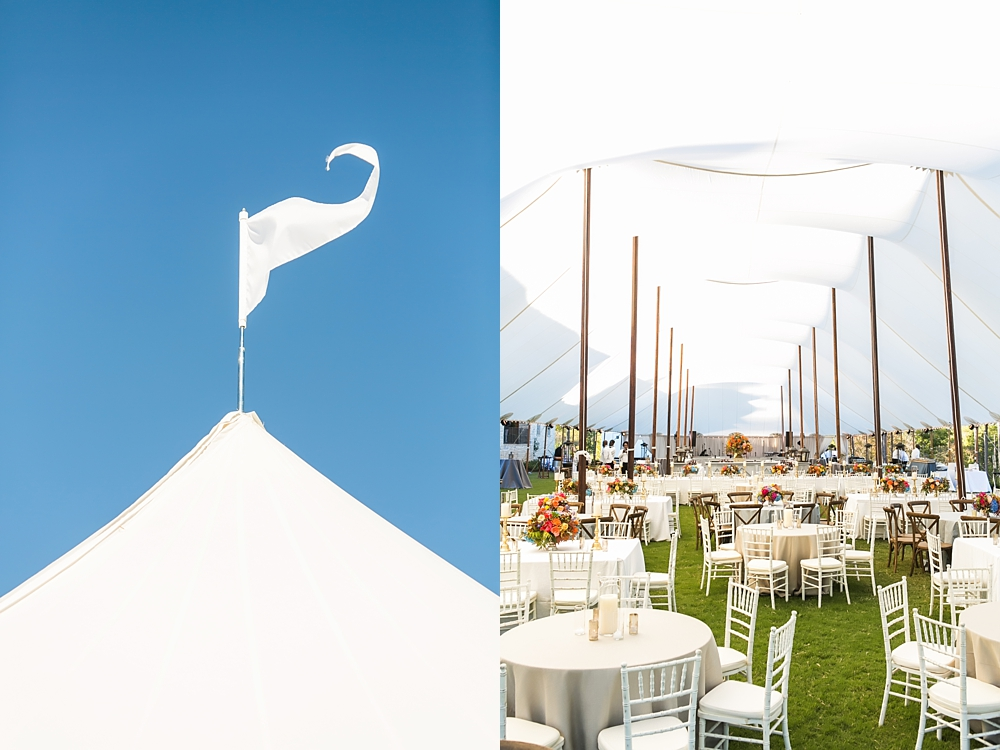 sailcloth tent flags