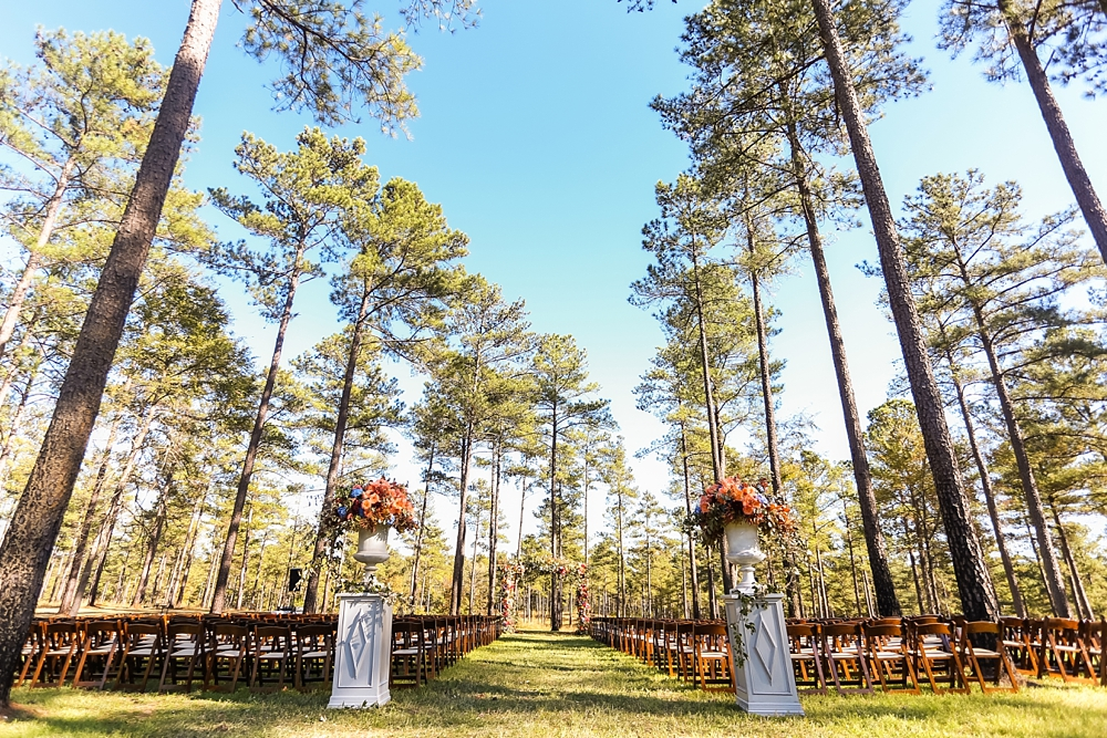 Fruitwood Chairs Ceremony