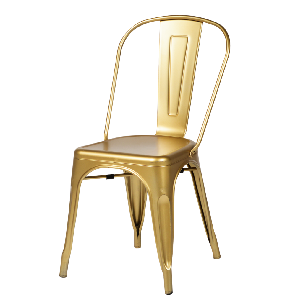 Tolix-Chair-in-Gold