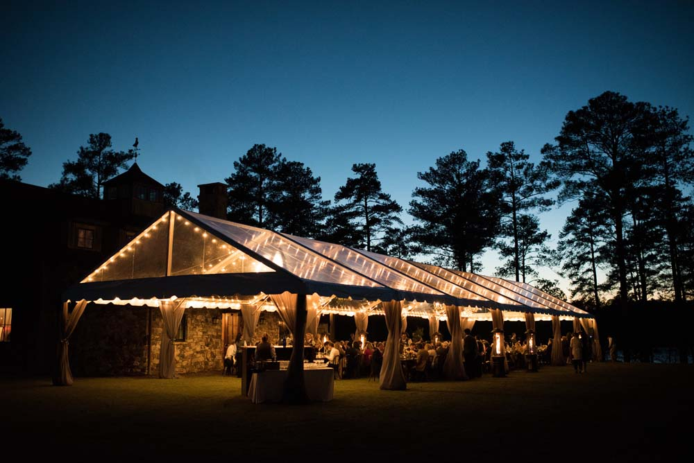 clear tent ideas for wedding